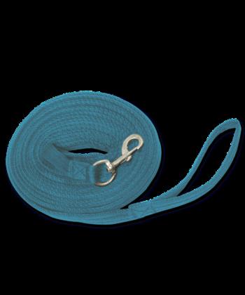 longierleine-griffy-blau