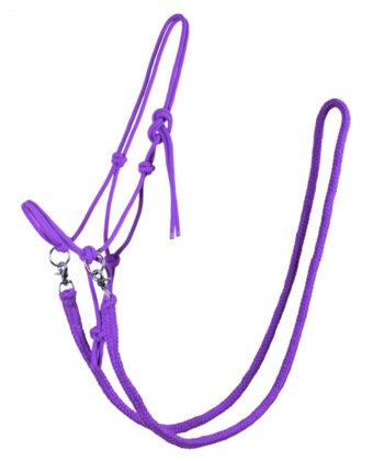 knotenhalfter-zuegel-violett