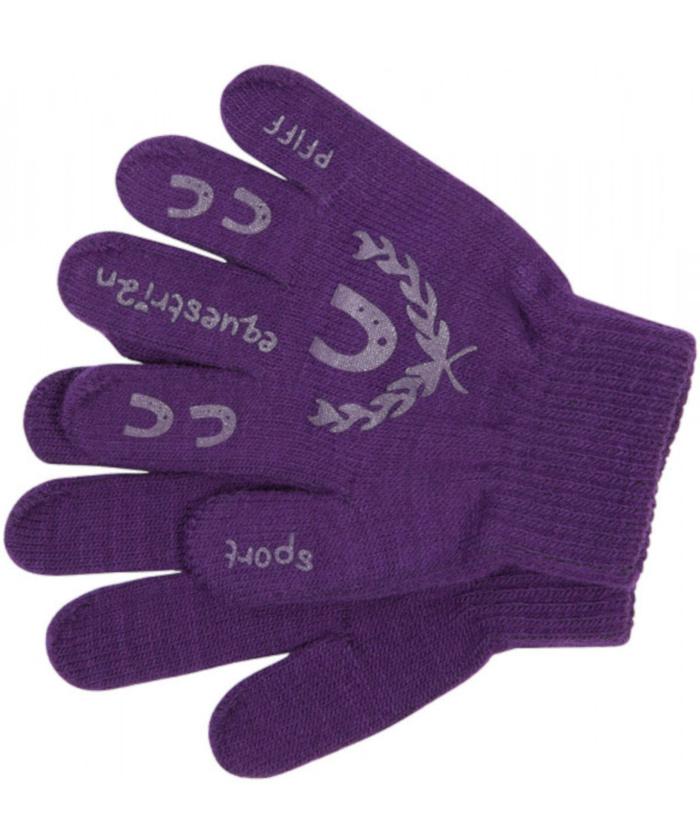handschuh-violett